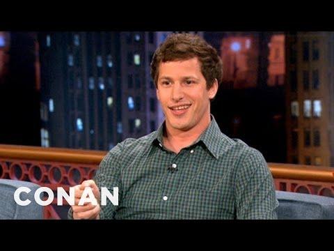 Andy Samberg's Strangest SNL Memory - CONAN on TBS
