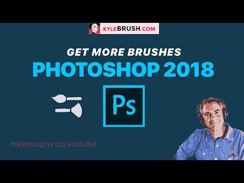 Photoshop CC 2018: Get More Brushes