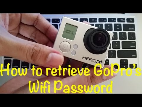 I Forgot My GoPro Hero3+ Wifi Password: How to reset/recover or create new GoPro Wifi Password