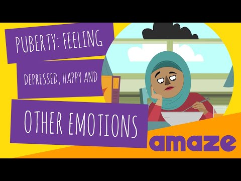 Puberty: Feeling Depressed, Happy and Other Emotions