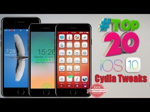 TOP 20 Brand New Tweaks For iOS 9/iOS 10.2 Jailbreak - Part 4