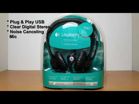 Logitech H390 headset Review and Mic Test - Not Worth it?