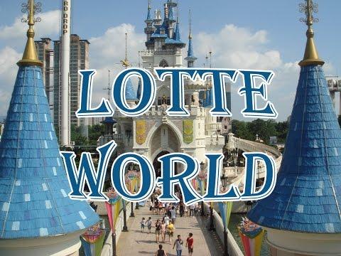 Traveling l Trip to Seoul, South Korea - Lotte World (롯데월드), Theme Park (테마파크)