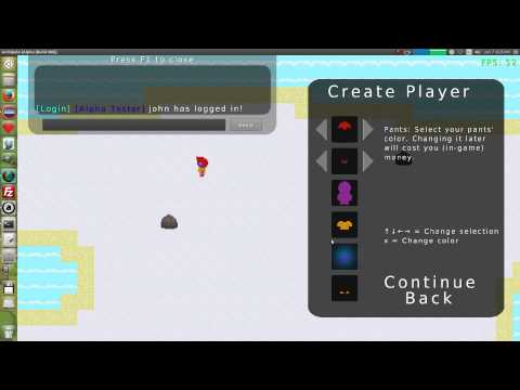 Archipelo Alpha Build 007: Optimization (2D LibGDX Java MMORPG)