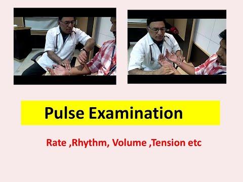 pulse examination -By Prof.Dr.R.R.Deshpande