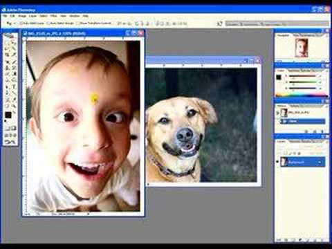 Basic compositing in Photoshop CS2 - Part 1