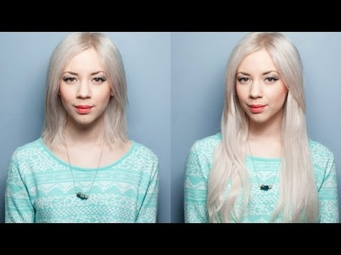 How To Apply Clip-In Hair Extensions In Short Hair (Requested)