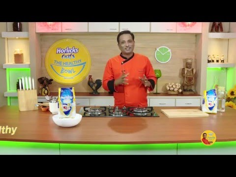 Instant Oats Dosa and More - Horlicks Oats