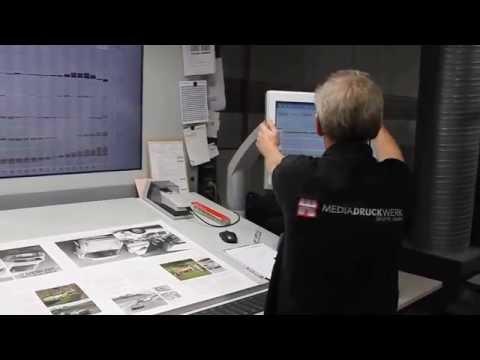 Porsche Carrera 2.7 Book Printing – Press Checks
