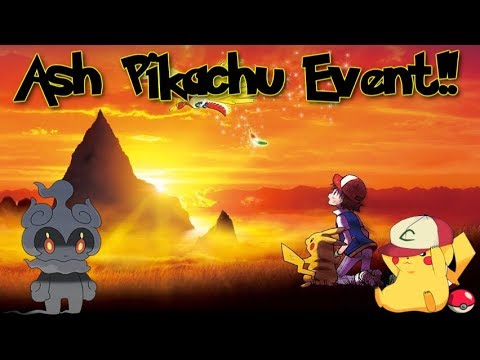 Ash Pikachu Event Confirmed! (Marshadow Event) Poke Transporter Update!