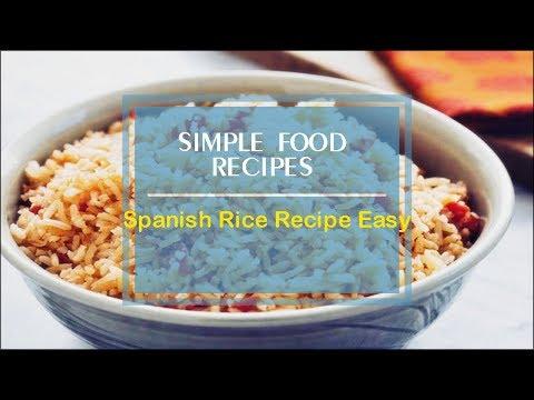Spanish Rice Recipe Easy