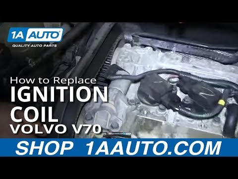 How To Install Replace Engine Ignition Coil 1999-2007 Volvo V70