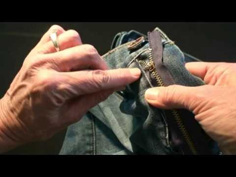 How to fix a Zipper (Jeans)
