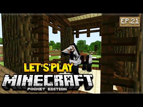 Let's Play Minecraft Pocket Edition 1.0.2 - PO's Pen Episode 21 (Pocket Edition)