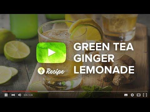 VitaCup Sparkling Green Tea Ginger Lemongrass