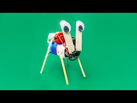 How To Make a Crazy Robot at Home - Awesome Toy For Kids - Very Easy