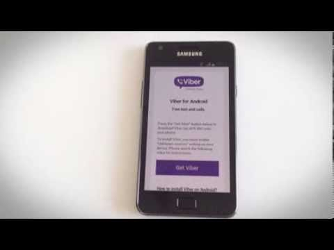 Installing Viber on Android