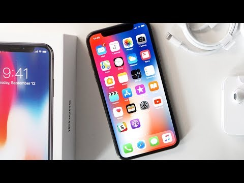 iPhone X Unboxing & First Impressions!