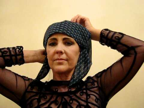 How to tie a HeadScarf Bandanas Chemo Cancer Hairloss Turbans Wigs Chemotherapy Headwear Hats