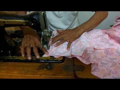 Cara Membuat Pola Dan Menjahit Model Baju Gamis Terbaru Full Video