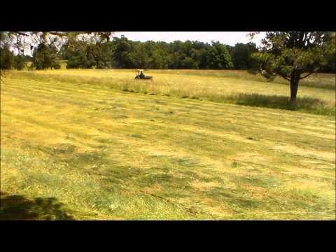 Summer Farming: Cutting, Raking, and Baling Hay