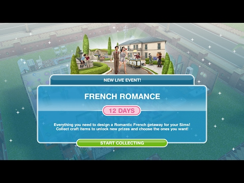 Simsfreeplay - French Romance Live Event