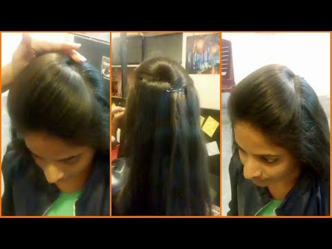 How to make Front Puff Hairstyle | Simple & Cute Puff Hairstyle