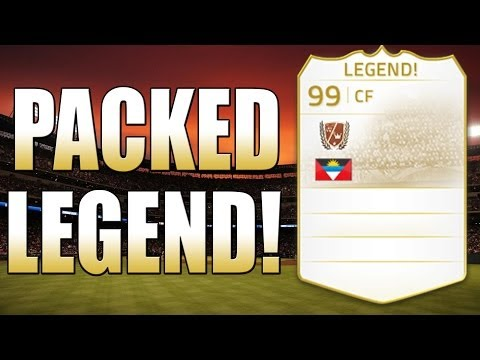 I PACKED A LEGEND! - FIFA 14 Ultimate Team