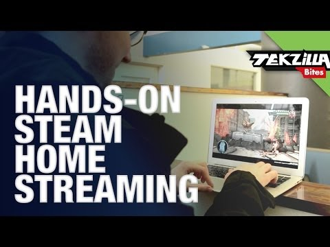 Steam In-Home Streaming Beta Hands On Review!