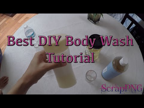 DIY Best Body Wash Castile Soap Coconut Oil