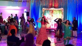 Natasha's Sangeet Dance