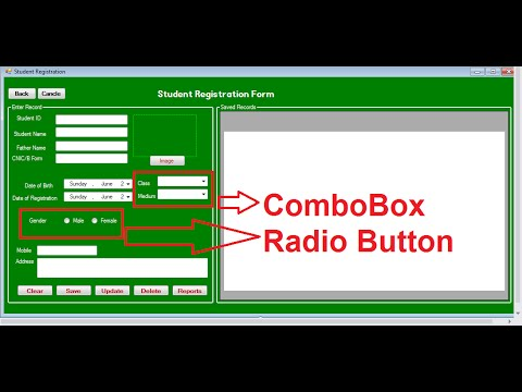 ComboBox And Radiobutton In C# 3