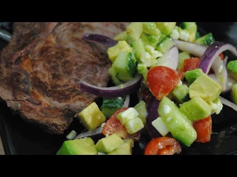 SUMMER SALAD AND STEAK - Student Recipe