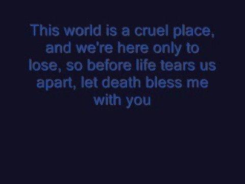HIM - Join Me In Death [LYRICS]