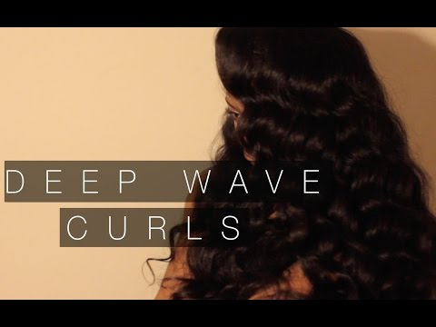 HOW TO-Deep Wave Curls| Brazilian Body Wave Bleuribbon Hair Co.