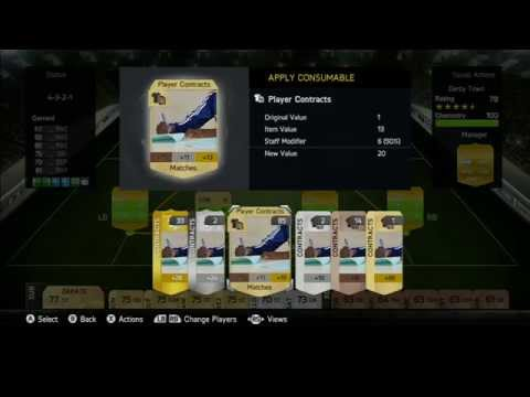 Fifa 15 Ultimate Team, How to get FREE contracts