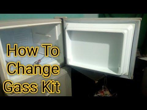 How to change and Repair refrigerator gas kit Urdu/Hindi