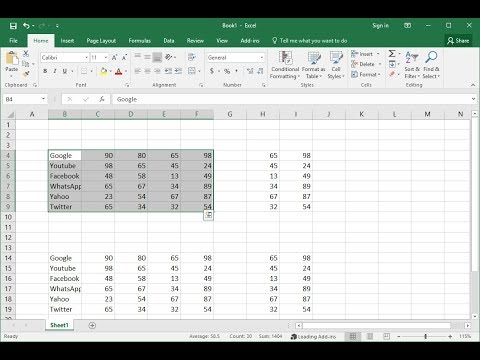 Easy Shortcut Key to Navigate in MS Excel (2003-2016)
