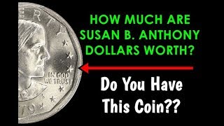 How Much Are Susan B Anthony Dollars Worth? - Do You Have This Coin?