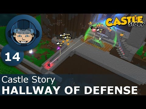 HALLWAY OF DEFENSE - Castle Story: Ep. #14 - Gameplay & Walkthrough
