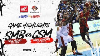 Highlights: San Miguel vs Ginebra | PBA Governors' Cup 2019