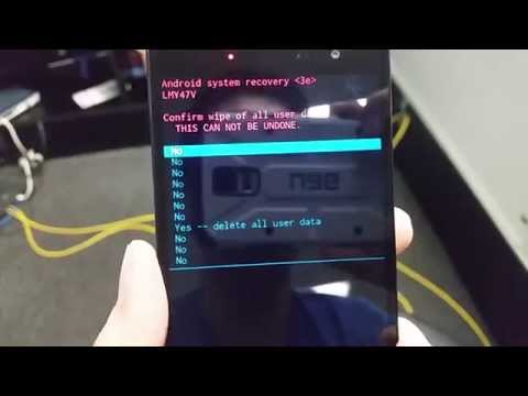 How to hard reset LG Volt 2 (Boost Mobile) HD