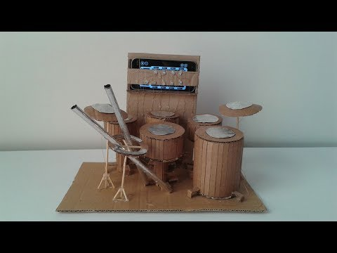 How to Make a Drum from Cardboard
