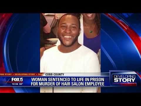 Woman sentenced for murder of hair salon employee