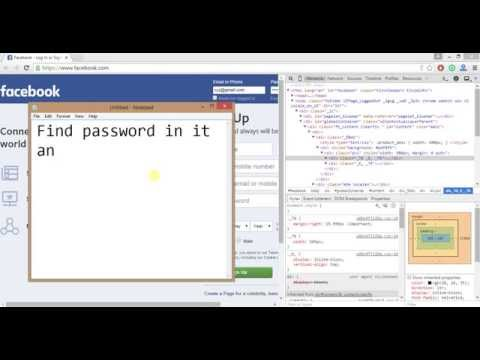 How to Know fb password (100% working) (No software needed)