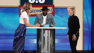 Laura Dern and Ellen Play