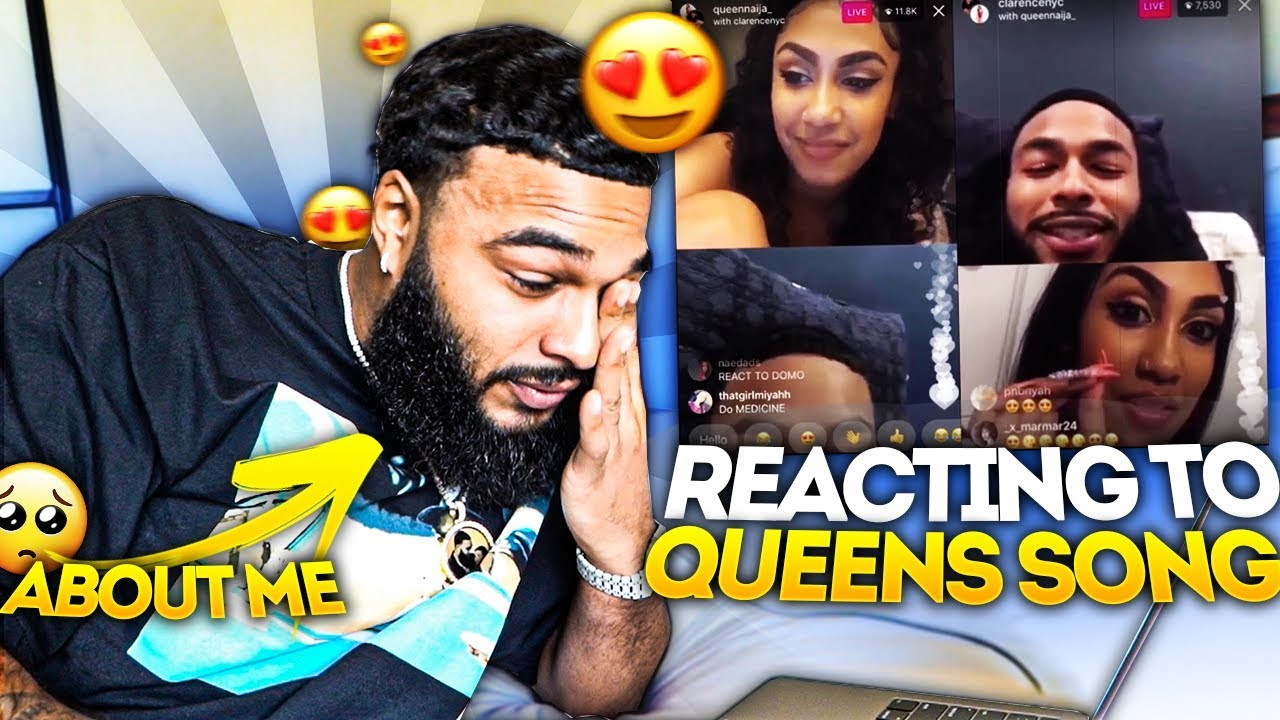 REACTING TO MY GIRLFRIEND'S SONG ABOUT ME..😢
