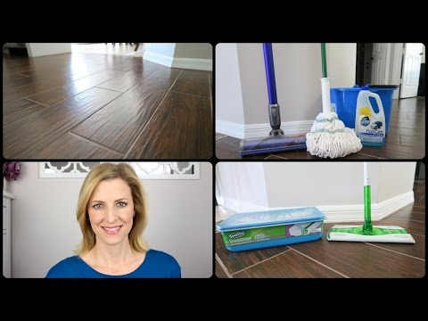 How To Clean Wood Look Tile | #woodlooktile