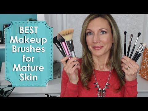 Best Makeup Brushes for Mature Skin | 2015