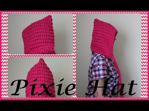 Crochet An Easy Pixie Hat